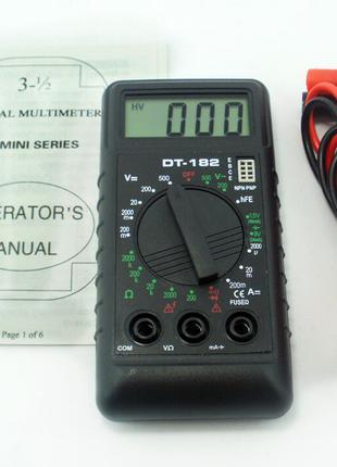 Мультиметр тестер DT-182