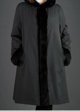 Шикарное пальто плащ тренч батал от известного немецкого бренда