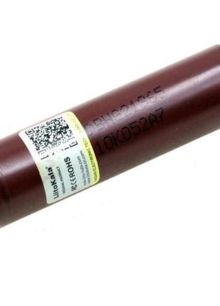 Аккумулятор 18650 высокотоковый Li-ion 3.6В 3000мАч 20А Liitok...