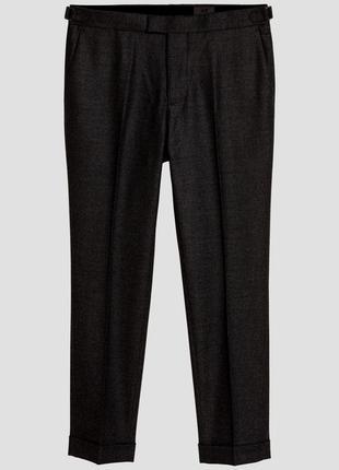 Шерстяные костюмные брюки h&m premium quality !