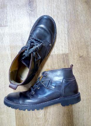 Ботинки весна-осень кожаные 36р