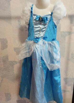 Платье карнавальное принцесса золушка tu 5-7 лет  р.110-122 + ...