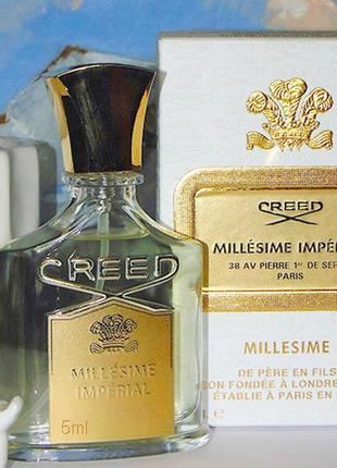 Creed Millesime Imperial _Оригинал EDP_5 мл затест_парф.вода