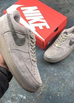 🍁мужские nike air force 1 mid🍁шикарные мужские серые кроссовки...