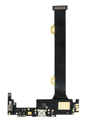 Нижняя плата Lenovo K920 Vibe Z2 Pro с разъемом зарядки и микр...