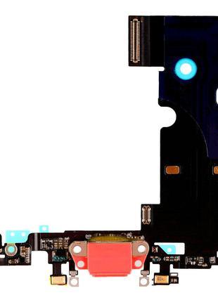 Шлейф iPhone 8 / iPhone SE 2020 с разъемом зарядки (Red) Original