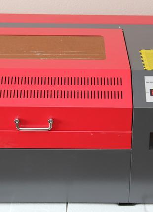 Лазерный гравер CO2 / Гравёр, станок СО2 / Лазер ЧПУ WR4040 50 Вт