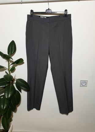 Плотные хлопоковые брюки jil sander
