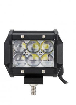 Автофара LED на крышу (6 LED) 5D-18W-SPOT (95 х 70 х 80) (40)