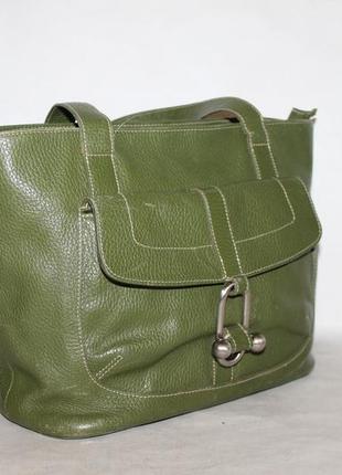 Кожаная сумка furla 100% натуральная кожа