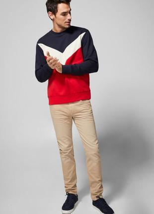 ❄распродажа!❄ новые бежевые штаны, джинсы от springfield  w30