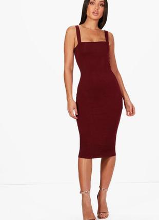 Скидка до 3️⃣1️⃣.0️⃣1️⃣!  платье-сарафан в насыщенном ягодном ...
