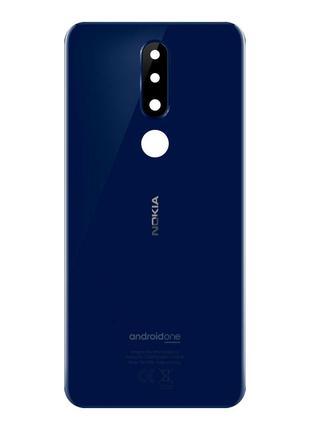 Задняя крышка для Nokia 5.1 Plus (Blue) Original