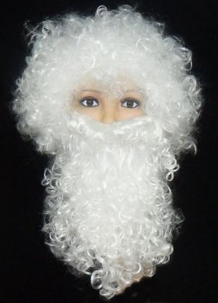 Набор Деда Мороза (парик+борода)