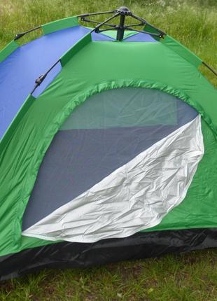 Палатка 4-х местная туристическая для отдыха на природе 206х20...