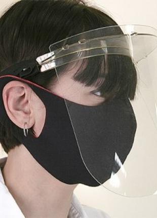 Щиток пластиковый для индивидуальной защиты лица