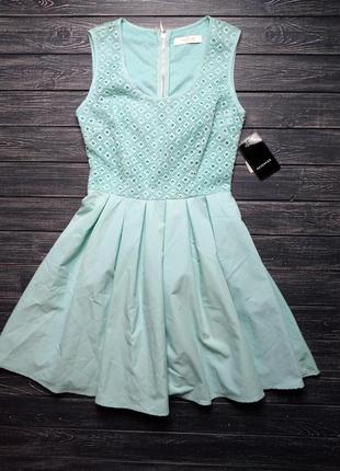 ❄распродажа!❄  нежное голубое платье от mohito размер 34
