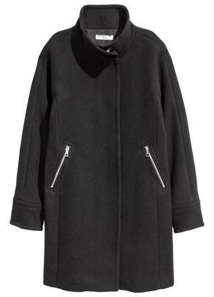 💥только до 11.04!💥 демисезонное пальто на молнии от h&m с доба...