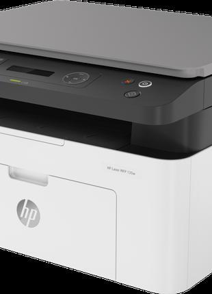 Принтер лазерний 3в1 (Принтер, Ксерокс, Сканер) HP Laser 135W ...