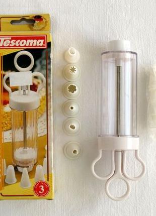 Шприц кулинарный кондитерский 13 насадок Tescoma для выпечки т...