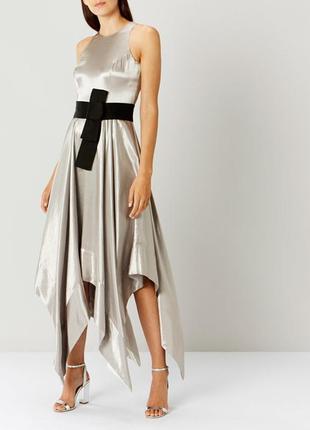 Скидка до 2️⃣9️⃣.0️⃣2️⃣!  нарядное платье серебристый металлик...
