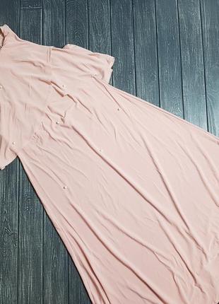 ❄распродажа!❄ нежное платье с открытыми плечами asos с бусинам...