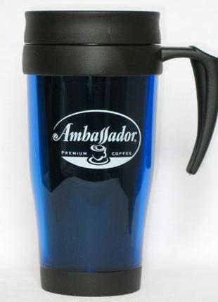Термокружка Ambassador 430 мл стакан чашка чайная термочашка к...
