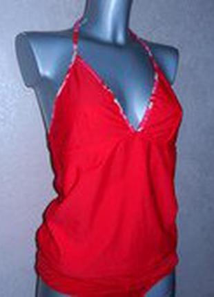 *atmosphere*красный купальник танкини для беременных новый