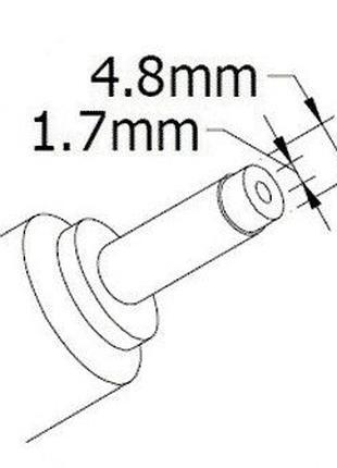 DC кабель блока питания к ноутбуку HP 4.8*1.7mm