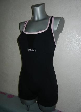Tribord,франция,оригинал!черный купальник с шортами для плаван...
