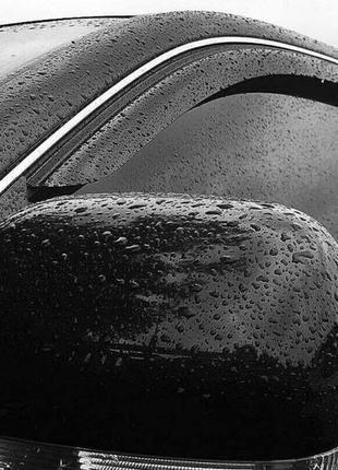 Дефлекторы окон Mitsubishi Galant IX Sedan 2004 Cobra Tuning В...