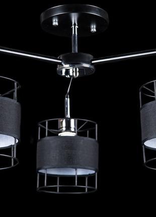 Люстры светильники потолочные с абажуром Splendid-Ray 30-3730-13