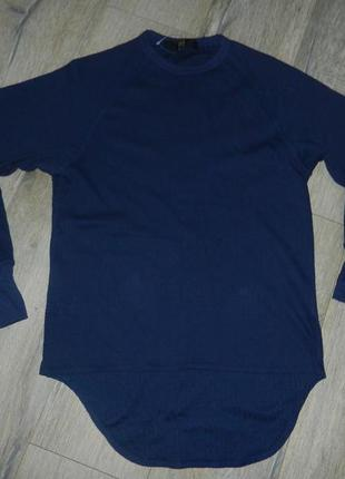 Work zone темно синий свитер, пуловер, футболка, хлопок, новая