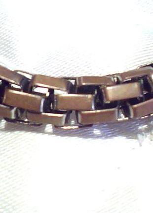 Металлический браслет, цепочка на руку из сплава N 4487743