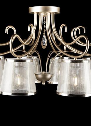 Люстра потолочная классическая с абажуром Splendid-Ray 30-3904-67