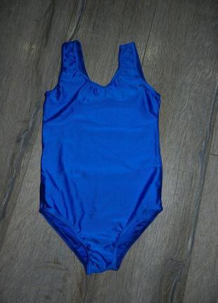 Katz, синий спортивный купальник, для спорта,для танцев, для г...