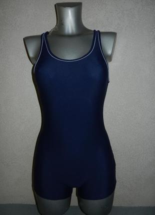 10/38/s германия!синий купальник с шортами для плавания,для ба...