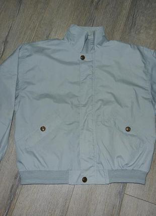 М-l/46-48 leisure wear мужская серо голубая куртка, ветровка