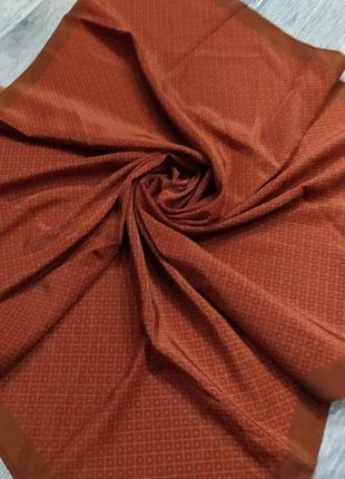Veritas,германия!терракотовый платок, кирпичнного цвета,новый