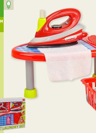 Гладильный набор XS-14052 утюг,гладильная доска,корзинка,плечи...