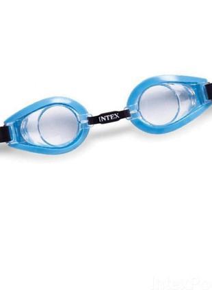 Детские очки для плавания Intex 55602 размер S (Blue)