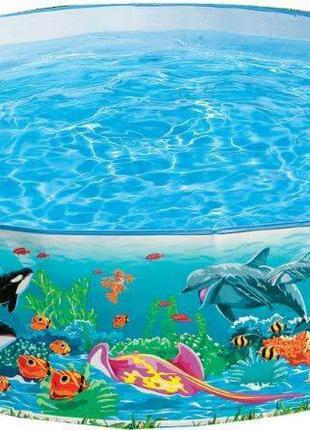 Каркасный бассейн Intex Коралловый риф 58472NP