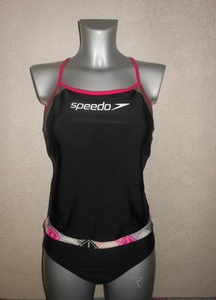 Speedo,оригинал! купальник танкини, комплект для спорта новый