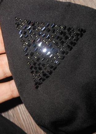 H&m,швеция!черный купальник шторки новый