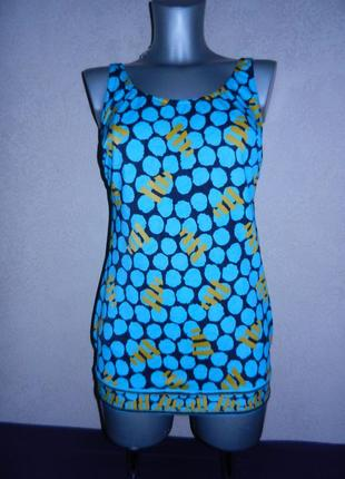 *sunflair*германия голубой купальник платье