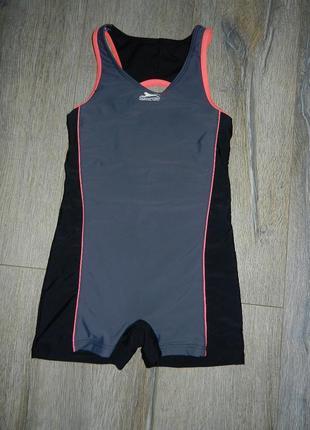 Slazenger серый купальник с шортами для плавания