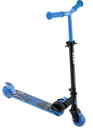 Двухколесный детский самокат, складной, колеса с подсветкой, с...