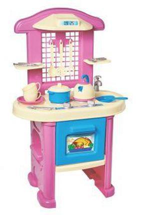 Игрушечная детская кухня с посудкой, ТехноК 3039