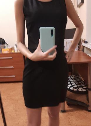 Платье черное размер M Cropp
