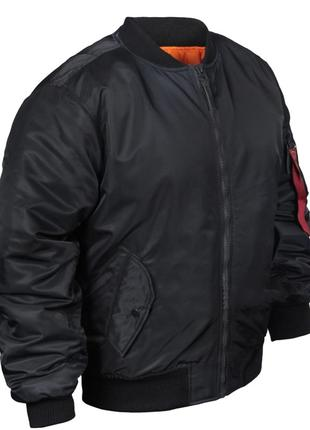 Куртка Chameleon МА-1 (р.52-54), черная